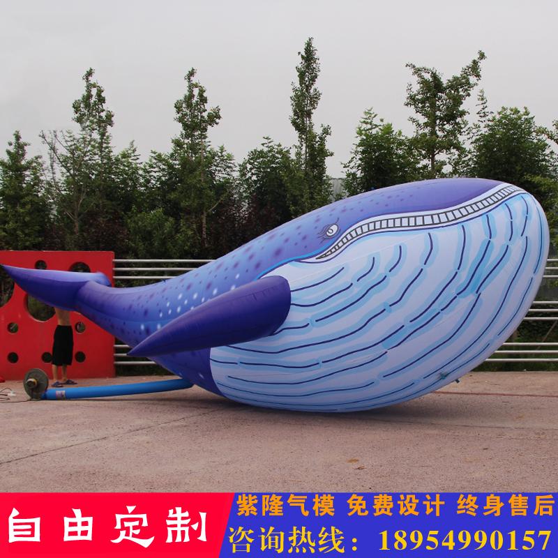万达周年庆充气鲸鱼